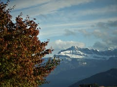 """""""Herbstliche Vor-Winterstimmung""""; so könnte die Bezeichnung für diese Aufnahme sein ! Aufgenommen in Meggen. (Bild: Margrith Imhof-Röthlin, 31. Oktober 2018)"""
