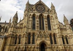 Minster in York, englische Gotik, fertig erbaut 1472. (Bild: Josef Habermacher (York, 4. Oktober 2018))