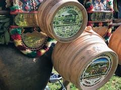 Glocken und Bauernmalereien dürfen an einer Viehschau nicht fehlen. (Bild: Bilder: Andrea Müntener-Zehnder)
