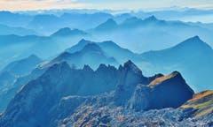 Wo die blauen Gipfel ragen ...(Bild: Franz Gerhard)