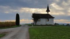 Kappelle in der Nähe von Leutmerken. (Bild: Stephan Lendi)