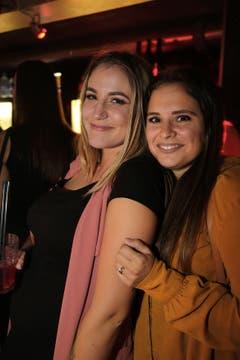 Gute Laune bei Vanessa Farina und Morena Cefola.