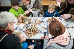 Impressionen vom Chnusperhäuschen-Event. (Bild: Manuela Jans-Koch, Malters, 10. November 2018)