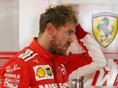 Vorjahressieger Sebastian Vettel steht ebenfalls in der Frontreihe (Bild: KEYSTONE/AP/NELSON ANTOINE)