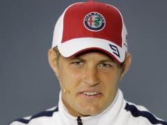 Marcus Ericsson war erstmals seit acht Rennen im Qualifying wieder einmal schneller als Leclerc (Bild: KEYSTONE/AP/ANDRE PENNER)