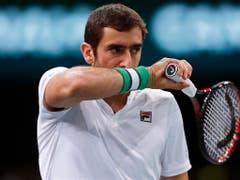 Marin Cilic setzte an den ATP Finals wie Zverev noch keine Akzente - zusammen mit dem Deutschen totalisiert er eine 2:10-Bilanz (Bild: KEYSTONE/EPA/IAN LANGSDON)