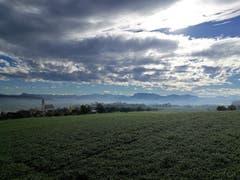 Mystische Herbststimmung in Knutwil. (Bild: Urs Gutfleisch, 12. November 2018)