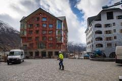 Impressionen vom Swiss Alps Resort in Andermatt. (Bild: Boris Bürgisser)
