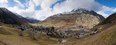 Das Dorf Andermatt. (Bild: Boris Bürgisser)