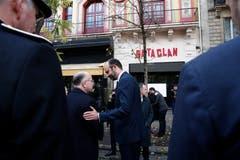 Impressionen von der Gedenkfeier am 13. November 2018 in Paris. (Bild: Benoit Tessier/EPA (Paris, 13. November 2018))