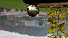 Campus Sursee. Verkehrter Blick durch die Glaskugel. (Bild: Alfred Herzog, 10. November 2018)