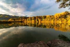 """Herbst im """"Eselschwanz"""". (Bild: Urs Rohner)"""