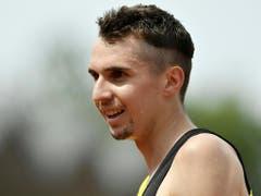 Langstreckenläufer Julien Wanders unterbot Mitte Oktober bei einem Strassenlauf über 10 km in Südafrika den Europarekord von Mo Farah (Bild: Keystone/WALTER BIERI)