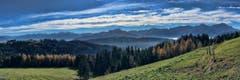Blick in den Alpstein auf den unteren Gäbris. (Bild: Toni Sieber)