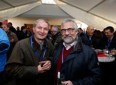 Im Bild: Ruedi Balsiger und Paul Langenegger. (Bild: Stefan Kaiser (Zug, 15. November 2018))