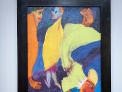 «Trio», 1929, Oel auf Leinwand. Traum- und Spukgestalten geistern immer wieder durch Emil Noldes Werk. (Bild: KEYSTONE/MARCEL BIERI)