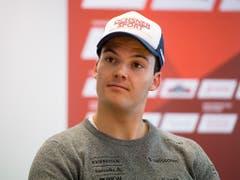 Loïc Meillard - mit 22 Jahren der jüngste der aufstrebenden Schweizer Slalom-Cracks (Bild: KEYSTONE/URS FLUEELER)