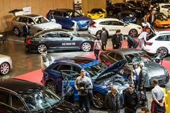 Automobilmesse Olma-Areal St.Gallen