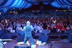 Das Festzelt in Sursee war mit 3000 Zuschauern restlos gefüllt. (Bild: PD)