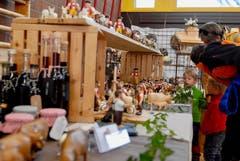 Adventsmarkt in Neu St.Johann und Tag der offenen Tür des Gewerbes in Nesslau. (Bild: Christiana Sutter, 25.11.2018)