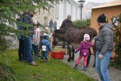 Chlausmarkt in Mosnang. (Bild: Beat Lanzendorfer, 25.11.2018)