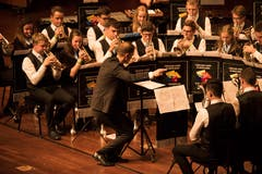 Die Luzerner BML Talents, dirigiert von Patrick Ottiger.