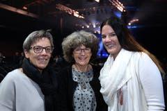Mögen die Musik: Christa Weidmann, Mägi Uberto und Marlen Weidmann.