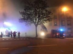 Sechs Menschen starben beim Brand des Mehrfamilienhauses in Solothurn. (Bild: Kapo SolothurnSolot)