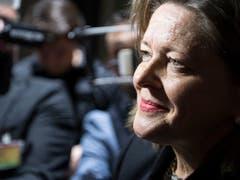 Die SVP-Bundeshausfraktion unterstützt nach den Anhörungen mehrheitlich die CVP-Kandidatin Heidi Z'graggen. (Bild: KEYSTONE/PETER SCHNEIDER)