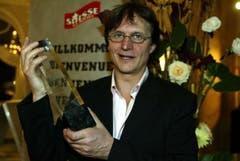 Vor dreizehn Jahren wurde Arno Del Curto Trainer des Jahres. (Bild: André Häfliger, Luzern, 28. Oktober 2005)
