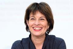 Die abtretende Bundesrätin Doris Leuthard ist eine Weggefährtin von Amherd.