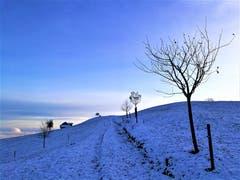 Wunderbare mystische Winterlandschaft im Schwarzenberg (Luzern). (Bild: Urs Gutfleisch (Schwarzenberg, 28. November 2018))