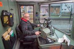 Lokomotivführer Beat Schaub aus Buchs fährt auf 25 verschiedenen Strecken durch die Schweiz. (Bilder: Urs Bucher)
