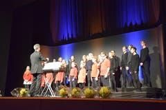 Für harmonische Zwischenklänge sorgten die Chöre der Singbox, die einen Anerkennungspreis erhielten.
