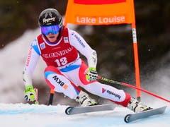 Nach zwei Riesenslaloms als Einstieg begibt sich Lara Gut-Behrami in Lake Louise wieder auf ihr bevorzugtes (Speed-)Terrain (Bild: KEYSTONE/AP The Canadian Press/FRANK GUNN)