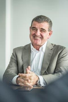 Platz 4: Peter Spuhler, CEO Stadler: 2 bis 2,5 Mia. (Bild: Andrea Stalder)