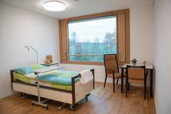 Patientenzimmer.