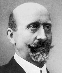 Josef Anton Schobinger (1849-1911) gehörte der Landesregierung von 1908 bis zu seinem Tod im Jahr 1911 an. Der CVP-Politiker war zuvor Regierungs- und Nationalrat. (Bild: Keystone)