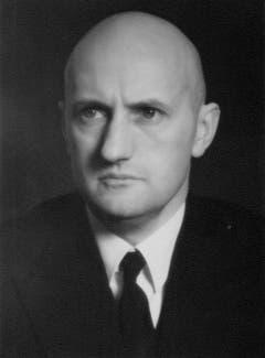 Philipp Etter (1891-1977) war der erste Zuger CVP-Vertreter, der es in den Bundesrat schaffte. Er gehörte der Landesregierung von 1934 bis 1959 an, also ungewöhnlich lange. Er war vier Mal Bundespräsident. (Bild: PD)
