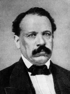 Melchior Josef Martin Knüsel (1813-1889) war der erste Luzerner Bundesrat – er politisierte für die liberal-radikale Fraktion, der heutigen FDP. Knüsel war von 1855 bis 1875 Mitglied der Landesregierung. (Bild: Archiv Keystone)