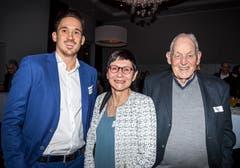 Die Familie von Michael Lang, Thurgauer des Jahres 2018: Bruder Christian mit den Eltern Priska und Peter Lang.