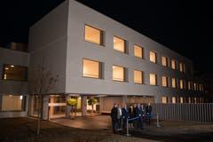 Der Neubau Haus C in St. Urban wurde am Donnerstag, 29. November, offiziell eröffnet. (Bilder: PD/Luzerner Psychiatrie)