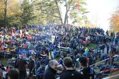 Der traditionelle Anlass lockte viele Gäste aufs Rütli. (Bild: Urs Hanhart, 7. November 2018)