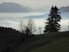 Herbststimmung über dem Rheintal. (Bild: Hans Etter)