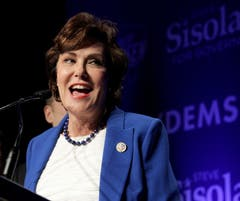 Die Demokratin Jacky Rosen schaffte in Nevada die Wahl in den Senat. (Bild: EPA/John Gurinski, Las Vegas, 2018)