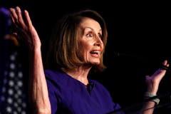 Die Führerin der Demokraten, Nancy Pelosi aus Kalifornien, ist zurück im Rampenlicht als «Madam Speaker». (Bild: AP/Jacquelyn Martin, Washington, 6. November 2018)