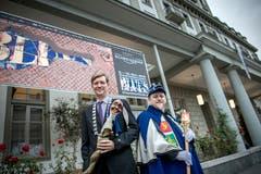 Mike Hauser (links) und Kari Bründler organisieren dieses Jahr das Blues Festival. Zudem ist Hauser Präsident des Luzerner Fasnachtskomitees und Kari Bründler ist sein