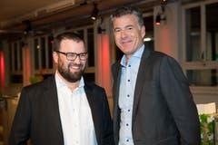 Marc Bärtschi, Finanzchef Talsee AG, und Mark Baumann, Mitinhaber Talsee AG.