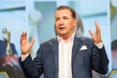 Hätte am liebsten allen sechs Nominierten einen Preis verliehen: Jurymitglied und Geschäftsführer des Raiffeisen Unternehmerzentrums (RUZ) Stefan Born.