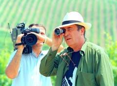 Der italienische Meisterregisseur Bernardo Bertolucci ist 77-jährig verstorben. Mit fulminanten Filmen wie «The Last Tango in Paris» oder «The Last Emperor» löste er Skandale und Begeisterung aus. Bertolucci arbeitete zuerst für Pier Paolo Pasolini, sein erster Film war ein Krimi über die Ermordung einer Prostituierten in Rom. Bertolucci etablierte sich neben Pasolini, Fellini und Antonioni als eine Schlüsselfigur der italienischen Filmszene. Bild: Claudio Onorati/EPA